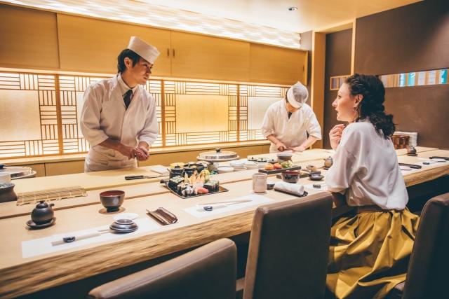 寿司の注文のマナー