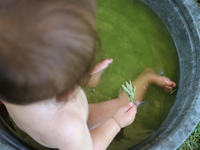 赤ちゃん 温泉